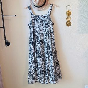 Old Navy Floral Sun Dress L NWOT
